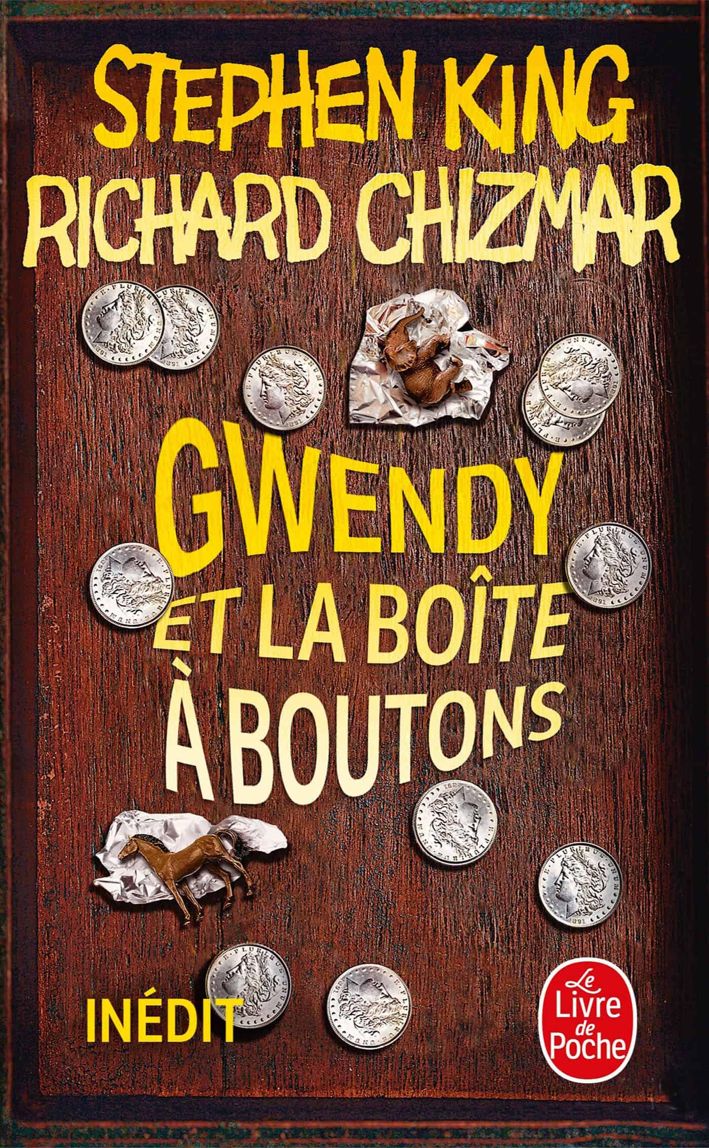 couverture Gwendy et la boîte à boutons