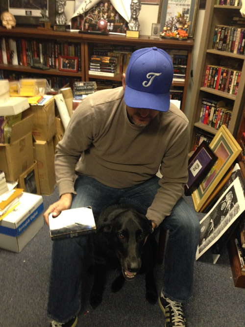Richard and The Stand and Otis the black lab