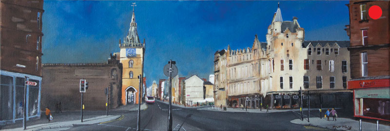 Glasgow Trongate, painting by Stephen Murray