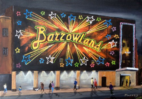 Glasgow Barrowlands Scotland Print