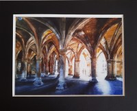 Glasgow University Cloisters Print Stephen Murray Art