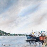 Tarbert Harbour Stephen Murray Art