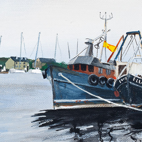 Tarbert Harbour Stephen Murray Art