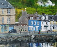 Tarbert Waterfront Stephen Murray Art