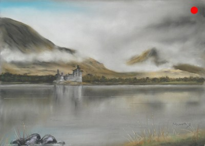 Kilchurn Castle, Loch Awe, Argyll and Bute, Scotland.