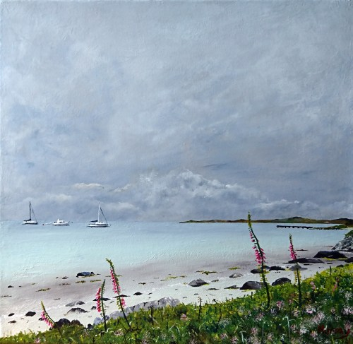 Isle Of Gigha Inner Hebrides Scottish Seascape Print