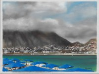 Albir, Costa Blanca Spain, Soft Pastel Painting