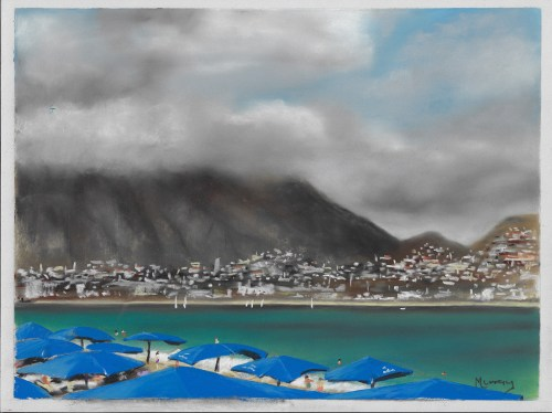 Albir, Costa Blanca Spain, Soft Pastel Painting