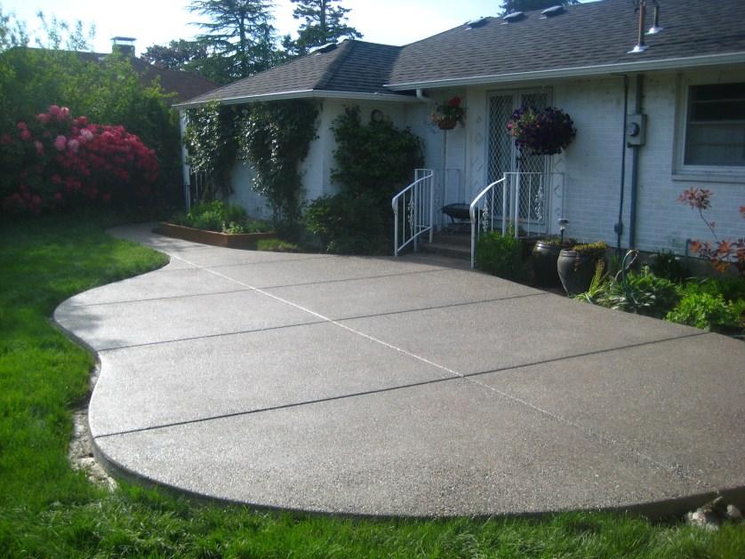 Portfolio for Washington and Oregon concrete contractor ... on Concrete Slab Backyard Ideas id=62674
