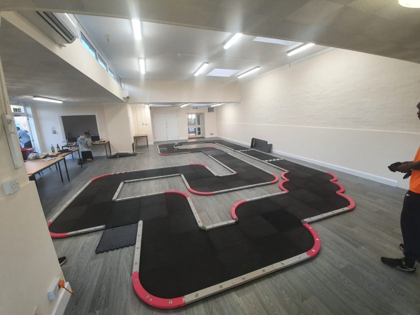 new track layout