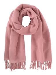 Raspberry solid blanket scarf