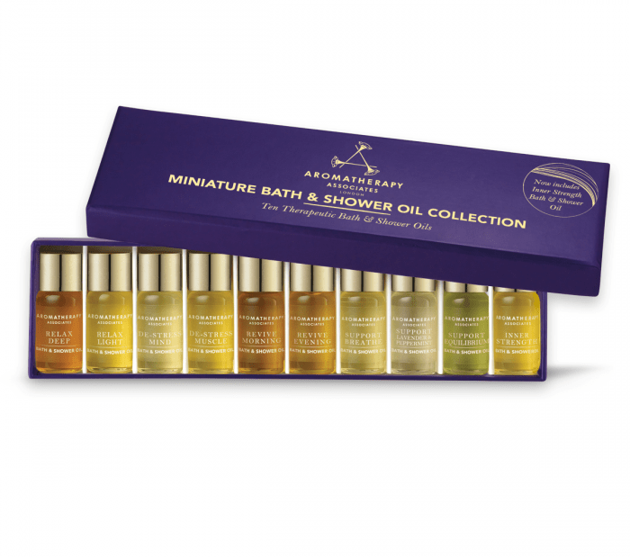 Share on Add to Wish List Miniature Bath & Shower Oil Collection 30ml