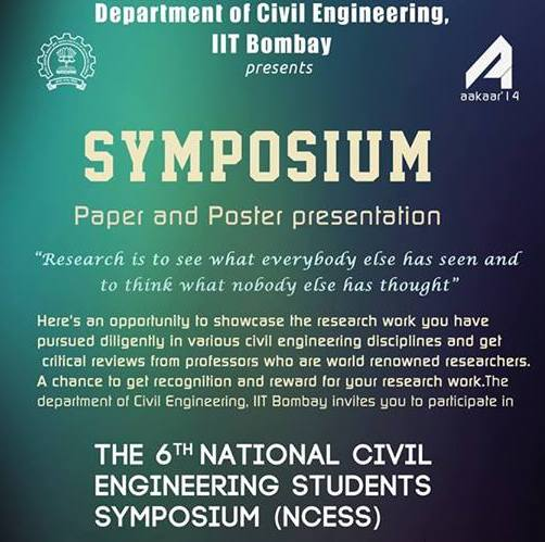 6th National Civil Engineering Students Symposium
