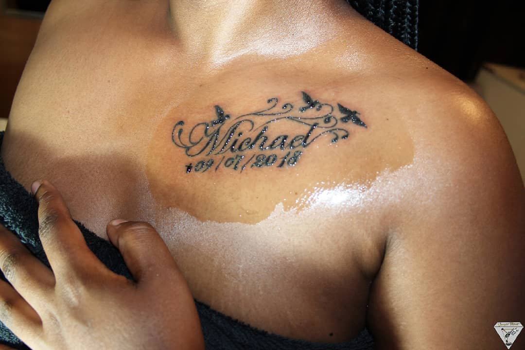 74 Magnificent Name Tattoo Ideas That Matches Your Personality
