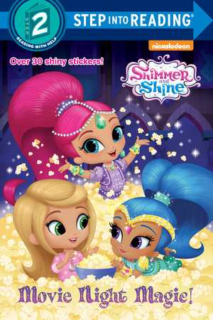Step Into Reading Movie Night Magic Shimmer And Shine