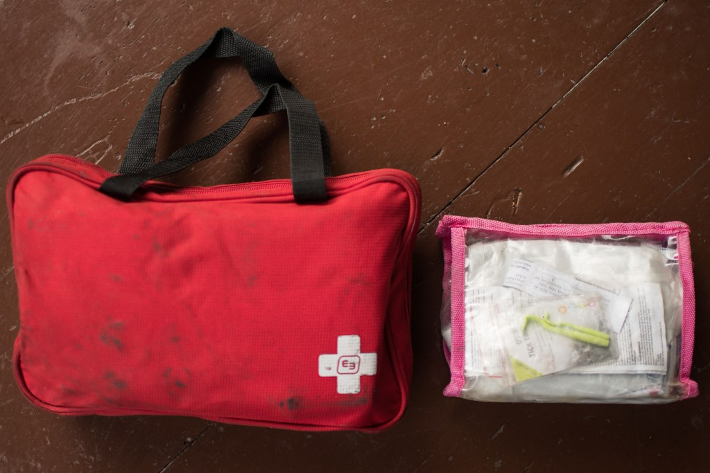 Human and dog first aid kit