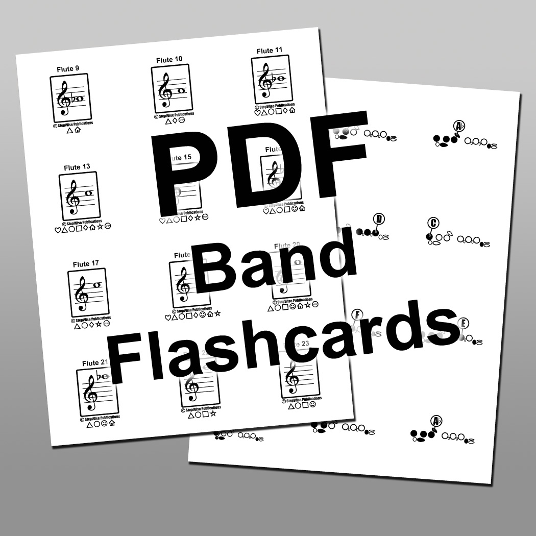 Beginning Band Flashcards