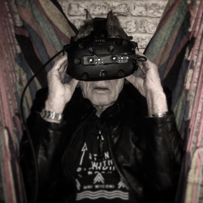 Robert Redford in Vive with ZED mini