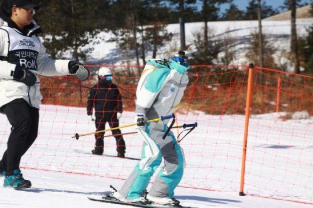 RoK-2 ski robot