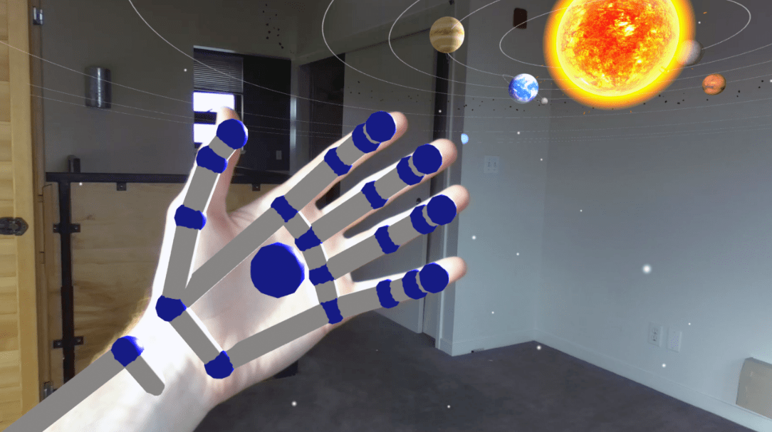 Hand tracking in the right place