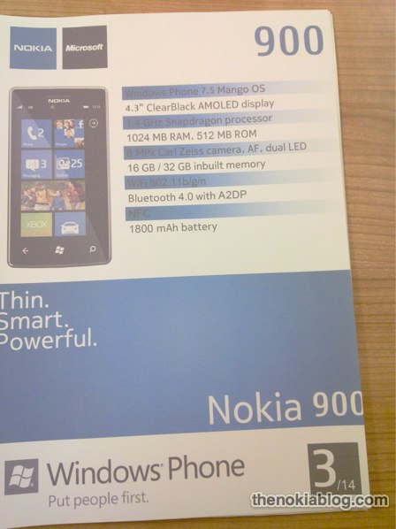 nokia-900-2 Nokia 900 - Ist dies das neue Windows-Phone-Flaggschiff? Nokia Smartphones Technology