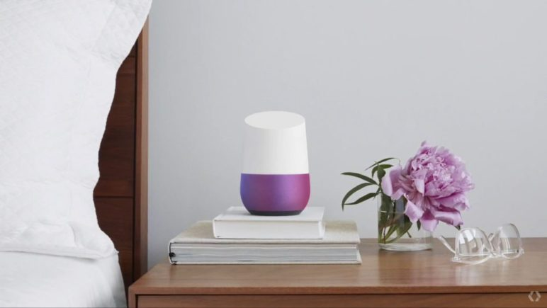 google-home-3-Google-IO-2016-1000x563-772x435 Google Home ab sofort in Deutschland erhältlich Gadgets Google Android Software Technology