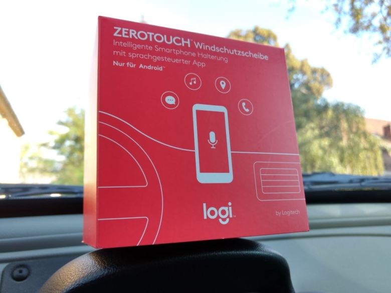 logitech-zero-touch-windschutzscheibe-packung Logitech ZeroTouch - Die Handyhalterung fürs Auto im Test [+Gewinnspiel] Auto und Technik Featured Gadgets Google Android Hardware Howto Reviews Smartphones Software Technology Testberichte YouTube Videos