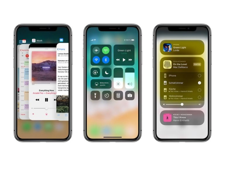 Apple iPhone X - iOS 11