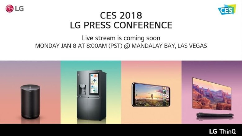 lg-ces-2018-pk LG auf der CES 2018 in Las Vegas [Livestream] Entertainment Gadgets Hardware LG Shortnews Smart Home Smartphones YouTube Videos