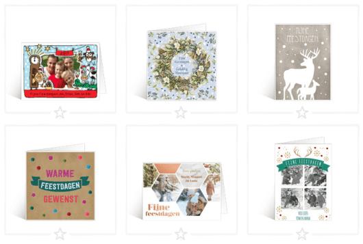 Sterkte wensen feestdagen kaartje
