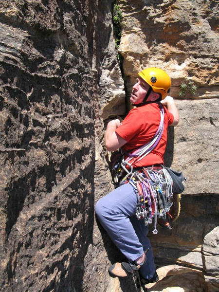 Ian on the penultimate pitch of Sweet Dreams