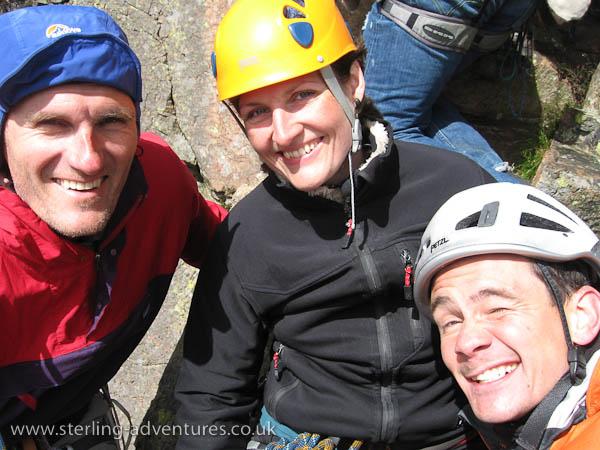 Pete, Mina and Jon