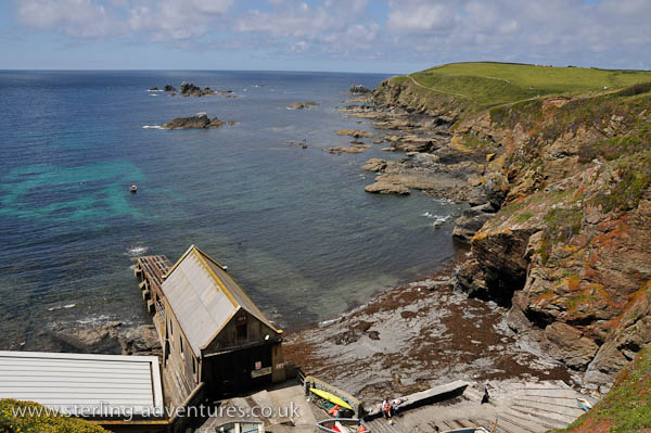 The old Lizard Point lifeboat station