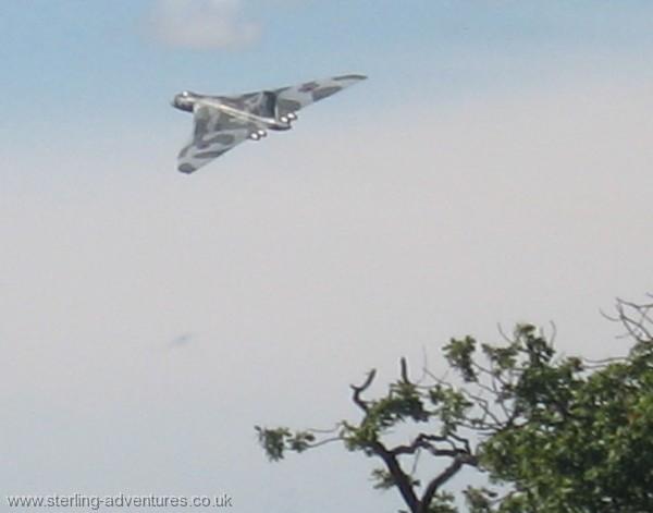 The AVRO Vulcan G-VLCN (XH558)