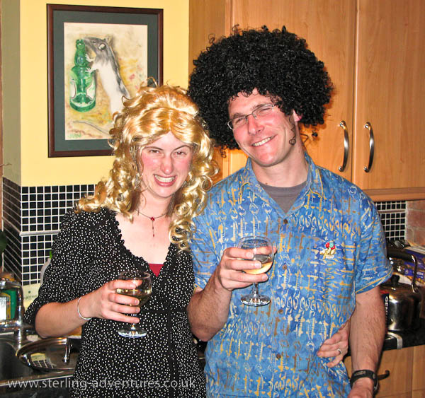 40th Birthday Party Wig 62