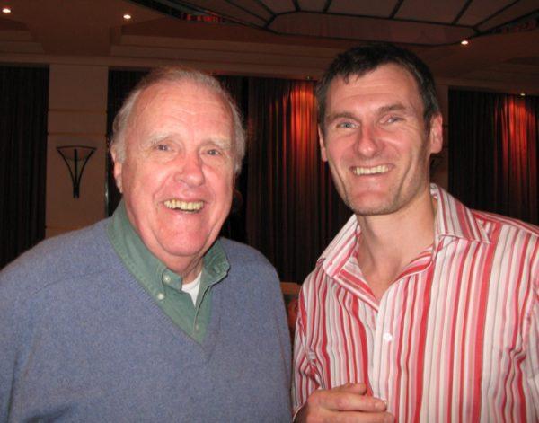 Meeting Ian McNaught Davis