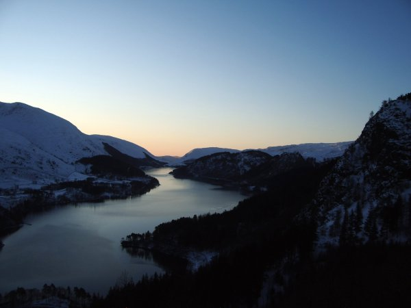 Morning over Thirlmere