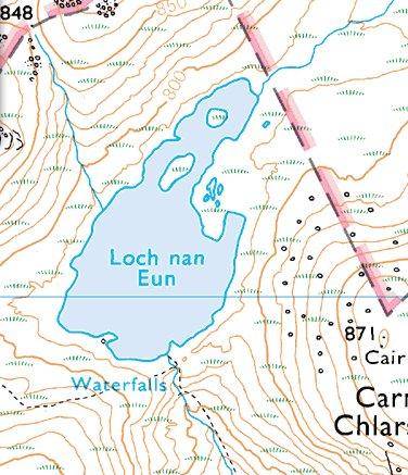 Loch Nan Eun map.