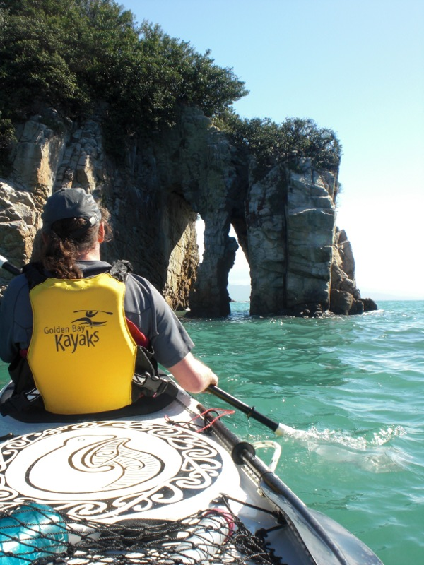 Sea kayaking at Abel Tasman National Park