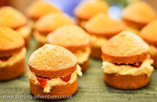 Twelve Victoria Sponges