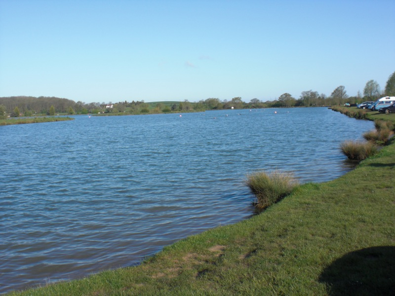 Open water swimming at Bosworth