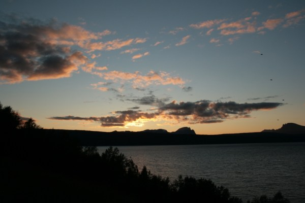 Sunset from Narvik.