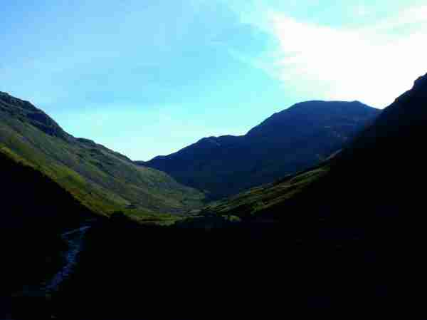 View back to Scafell