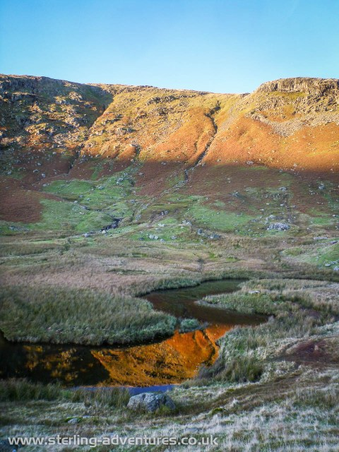 More amazing reflections walking down Wyth Burn