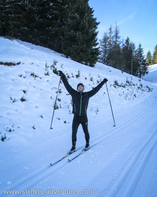 Our cross country ski touring teacher, Michael
