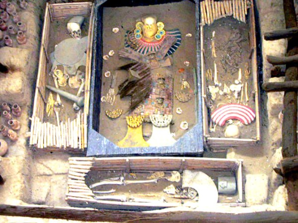 A picture from wiki.  It's such a shame I can't show you the amazing gold artifacts.