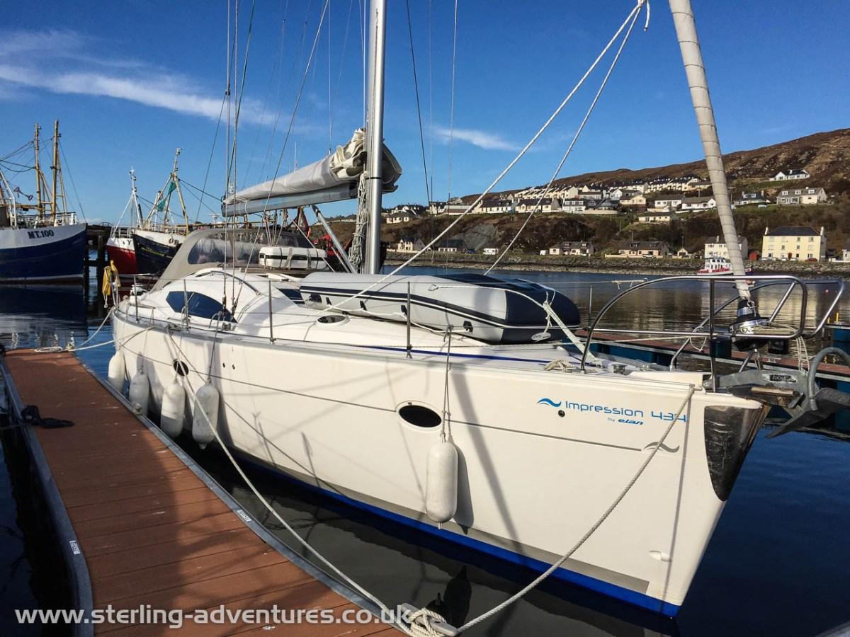 Scottish Sailing & Climbing
