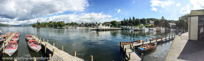 Windermere from Bowness Marina