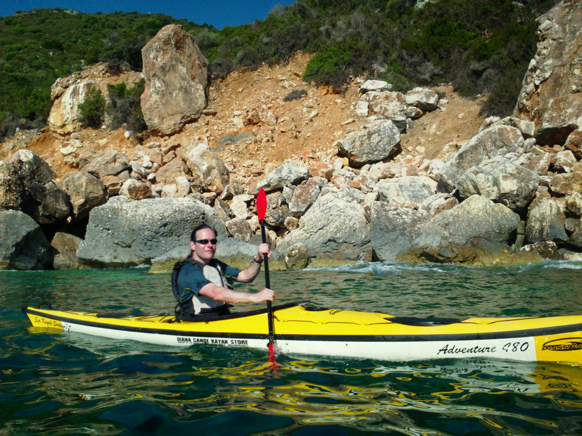 A day on the water in Sardinia