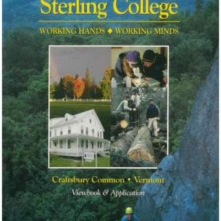 Sterling College Viewbook & Application 1997